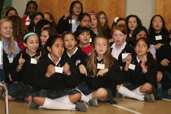 Fifth Grade Vocations Mass