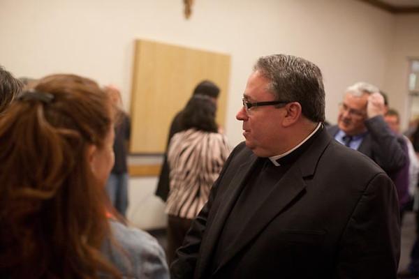 Bishop-elect Michael F. Olson - press conference
